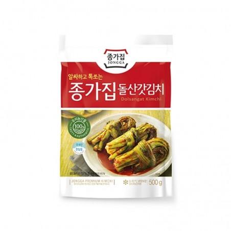CJ BIBIGO JONGGA (RF) Jongga Gat Kimchi 500g (BBD: 26/7/2021) 1