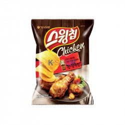 ORION ORION ORION Swing Chips Marinated Chicken 60g 1