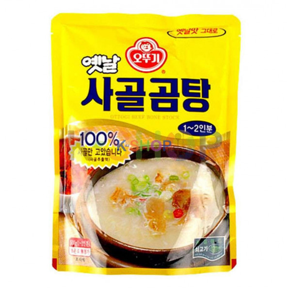 OTTOGI OTTOGI Suppenbrühe aus Rinderknochen 1-2 Portionen 500g 1