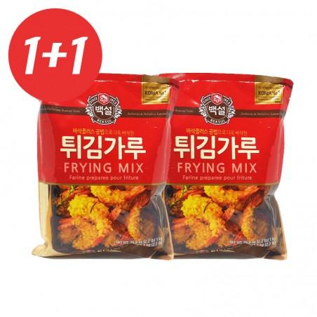 CJ BAEKSUL CJ BEKSUL 1+1백설 튀김가루 1kg(유통기한: 15/11/2020) 1