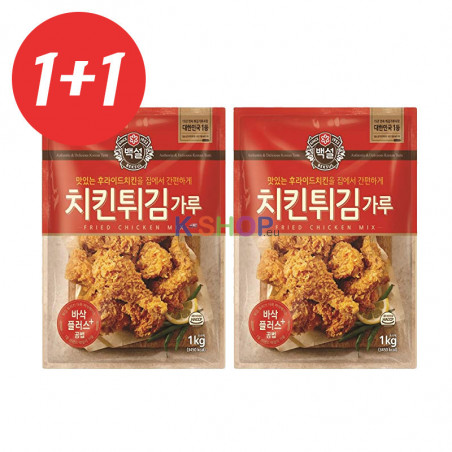 CJ BAEKSUL CJ BEKSUL 1+1CJ BEKSUL Tempura Flour for Fried Chicken 1kg(BBD: 06/11/2020) 1