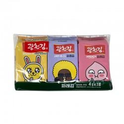 KWANGCHEON KWANGCHEON 광천 *카카오프렌즈* 도시락 파래김 (4g x 3봉) 1