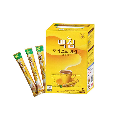 DONGSEO  MAXIM Instant Coffee Mocha Gold Mild 12g x 100 1