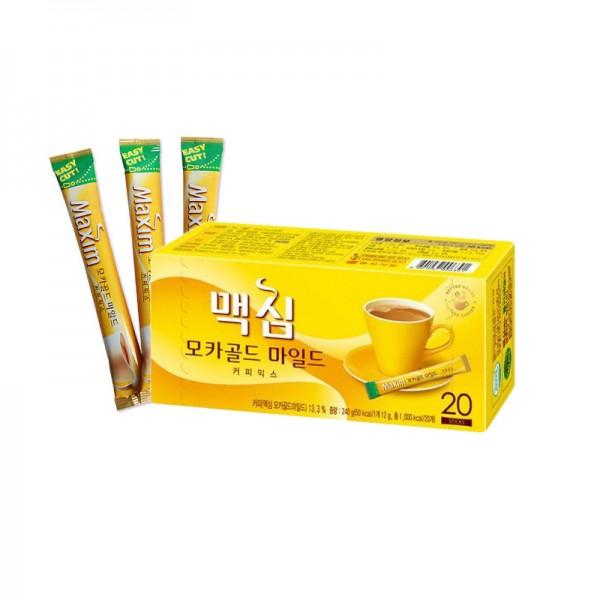 DONGSEO  MAXIM Instant Kaffee Mocha Gold Mild (12g x 20) 1