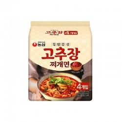 NONG SHIM NONG SHIM NONGSHIM Ramen Paprikapaste stew multi (140g x 4)(MHD:21/12/2020) 1