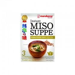MARUMIYA  MARUKOME Miso-Suppenpaste gebratener Tofu 57 g 1