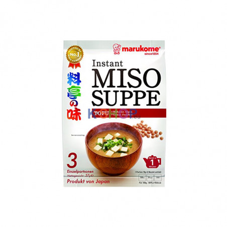 MARUMIYA  MARUKOME Miso-Suppenpaste Tofu 57 g 1