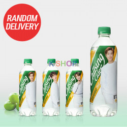 LOTTE LOTTE LOTTE Chilsung Cider green tangerine flavour (BTS) 500ml 1