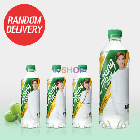 LOTTE LOTTE LOTTE Chilsung Cider green tangerine flavour (BTS) 500ml (MHD : 12/07/2021) 1