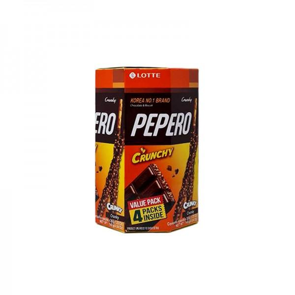 LOTTE LOTTE LOTTE Pepero Crunchy Bulk 140g 1