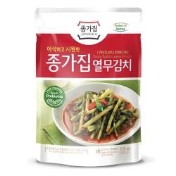 CJ BIBIGO JONGGA 1+2(Kühl) JONGGA Junger Rettich Blätter Kimchi (Yeolmu) 500g(MHD: 08/02/2021) 1
