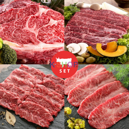 PANASIA  (FR)KSHOP Grilled Assorted Beef Set (ca.1 kg / Pack) 1