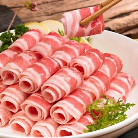 (FR) KSHOP Schweinebauchfleisch geschnitten 1,5mm 700g 1