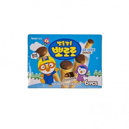 LOTTE  뽀로로 아이스콘 초코 54g 1