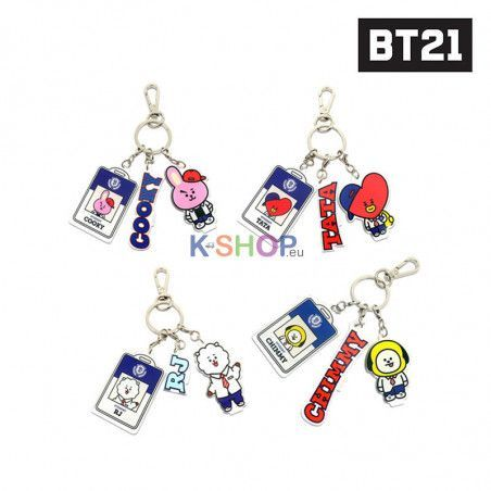 BT21/BTS Acrylic key ring - RJ /TATA /CHIMMY /COOKY 1