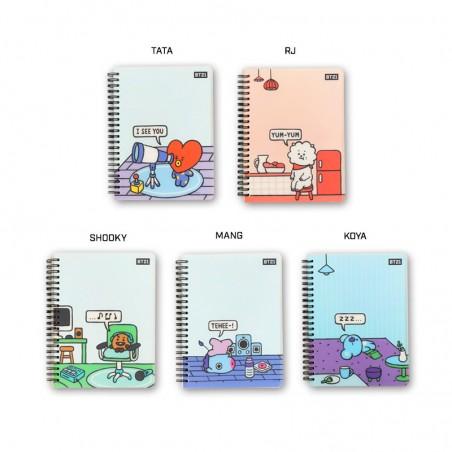 LOTTE  BT21/ BTS Cover Notizbuch 1