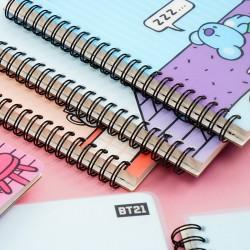 LOTTE  BT21/ BTS Cover Notizbuch 3