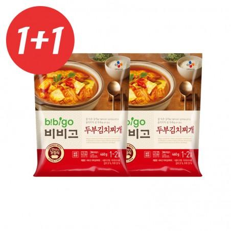 CJ HETBAN CJ BEKSUL 1+1CJ BIBIGO Tofu-Kimchi stew 460g(MHD: 24/03/2021) 1