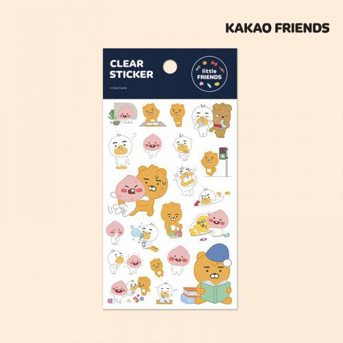 Kaokao Friends /  Clear Stickers 1