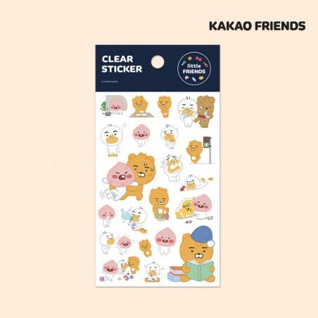 Kakao Friends / Klare Aufkleber 1