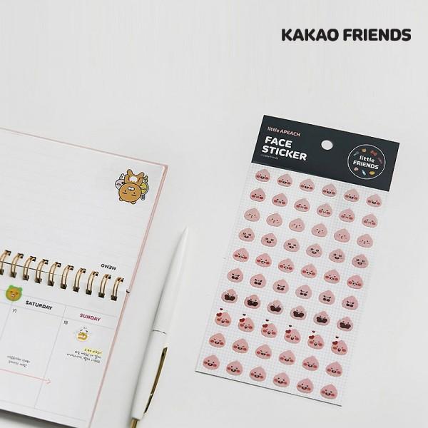 Kakao Friends / Face Aufkleber 1