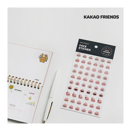 Kakao Friends / Face Stickers 1