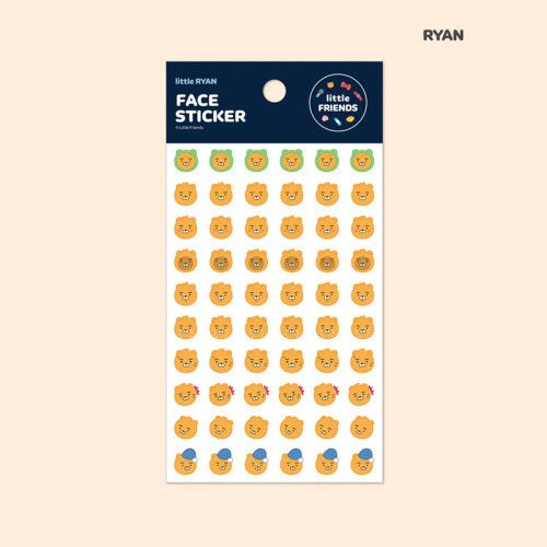 Kakao Friends / Face Stickers 1
