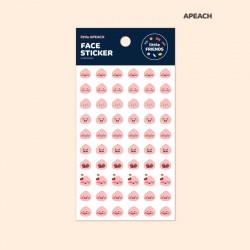 Kakao Friends / Face Aufkleber 3