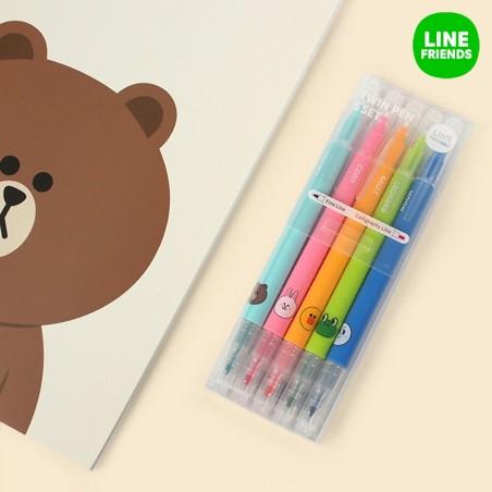 Line Friends / 5 color set 1
