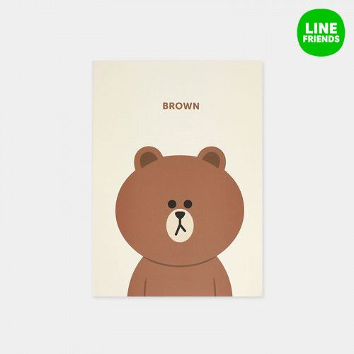 Line Friends / Notebooks 1