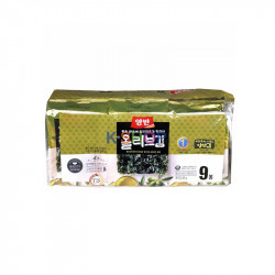 SEMPIO DONGWON DONGWON Seaweed with olive oil, seasoned, cut (5g x 9) 1