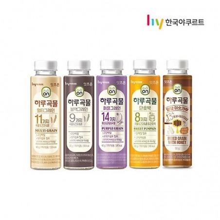LOTTE  Eats On Koreanischer Mehrkornshake 5 SET (Sweet Misugaru, Multi Grain, Black Grain, Purple Grain, Sweet Pumpkin) 1