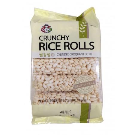 ASSI ASSI ASSI crunchy Rice Rolls 100g 1