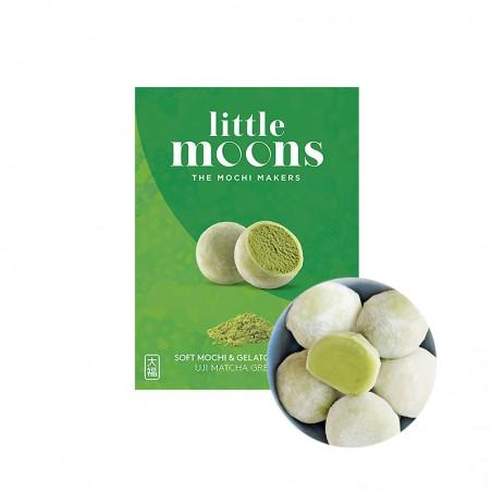 SAMLIP  (FR) LITTLE MOONS Mochi, Matcha Grüntee Eis 192g (6 pieces) 1