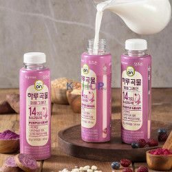LOTTE  Korean multigrain shake 'Eats On Purple Grain' 40g 1