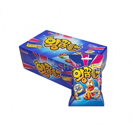 ORION ORION ORION  King Gummy Worms BOX (67gx10)(BBD: 07/05/2021) 1