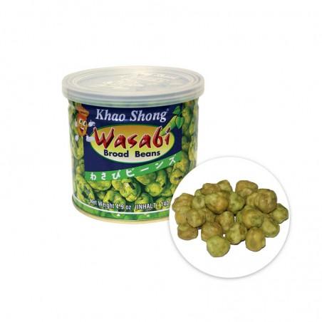KHAO SHOG  KHAO SHONG Dicke Bohnen mit Wasabi 140g 1