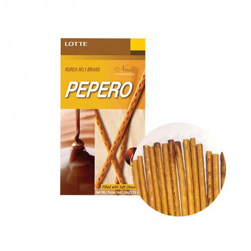 LOTTE LOTTE LOTTE Pepero Nude filled with chocolate 50g 1