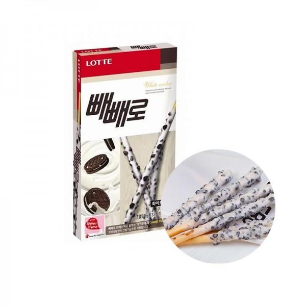 LOTTE LOTTE LOTTE Pepero White Cookie 32g 1