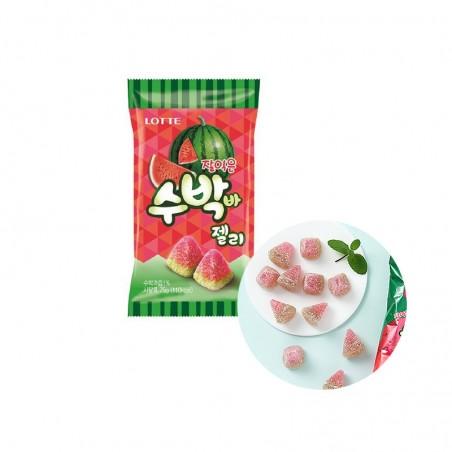 LOTTE LOTTE LOTTE Wassermelonen-Wackelpudding 56g 1