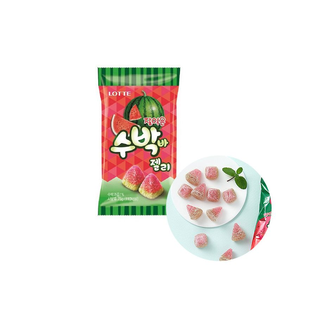 LOTTE LOTTE LOTTE Watermelon jelly 56g 1