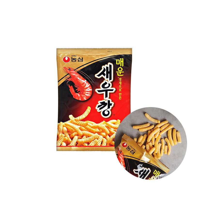 NONG SHIM NONG SHIM NS Shrimp Cracker scharf 75g 1