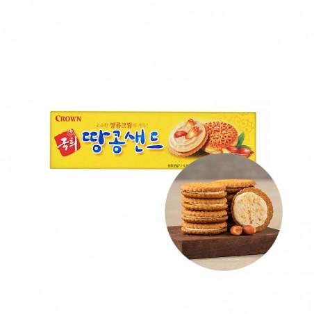 CROWN CROWN CROWN Biscuit Peanut Sand 70g 1