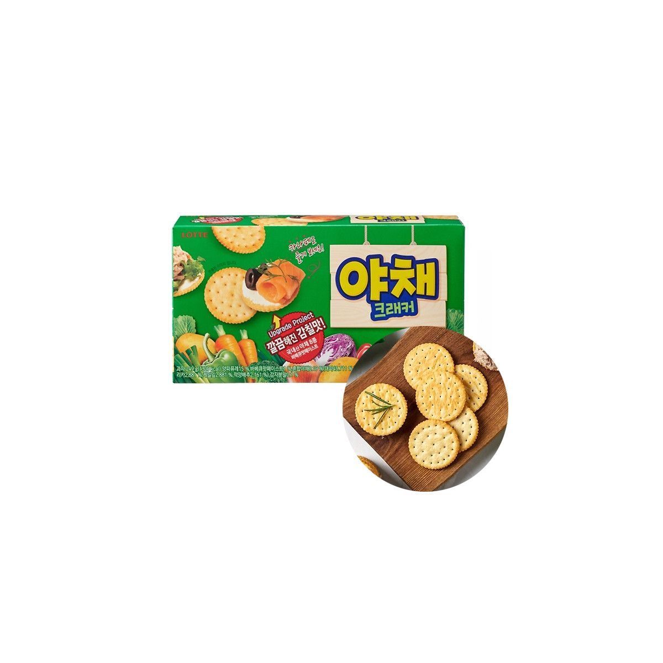 LOTTE LOTTE LOTTE Keks Vegetable 249g(MHD:05/10/2021) 1
