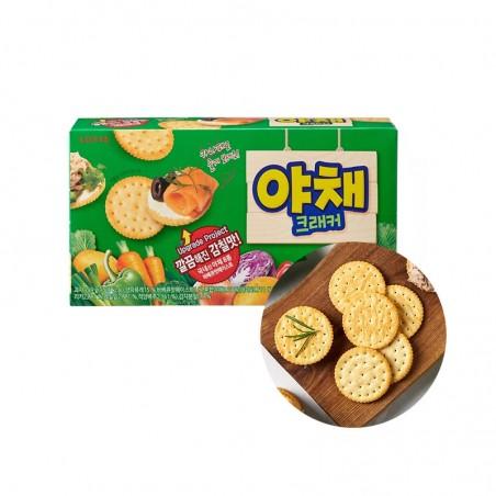 LOTTE LOTTE LOTTE Vegetable Cracker 249g (BBD: 04/03/2022) 1