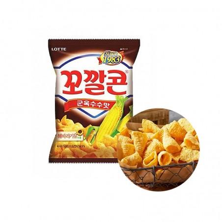 LOTTE LOTTE Lotte Mais Chips BBQ 72g 1