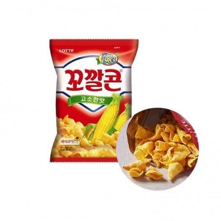 LOTTE LOTTE LOTTE Corn Snack original 72g 1