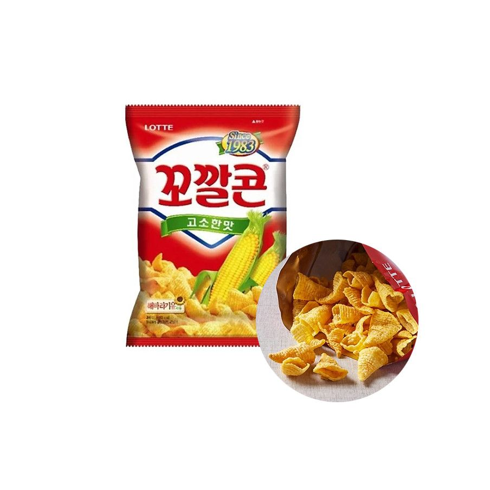 LOTTE LOTTE LOTTE Mais Chips Original 72g 1