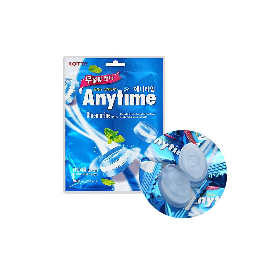 LOTTE LOTTE LOTTE Candy  Anytime Bluemarine  74g 1