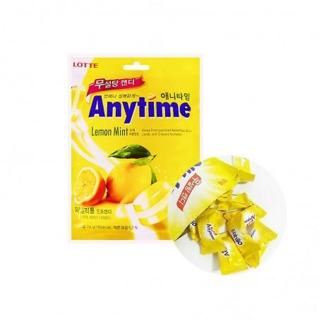 LOTTE LOTTE LOTTE Candy  Anytime Lemon Mint  74g 1